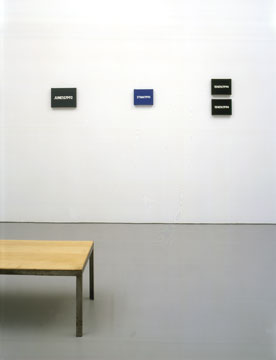 On Kawara, David Zwirner Gallery