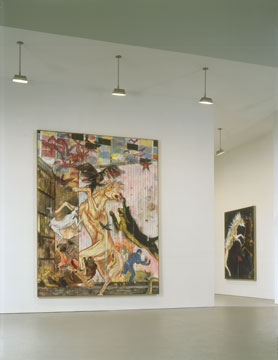 Daniel Richter, David Zwirner Gallery